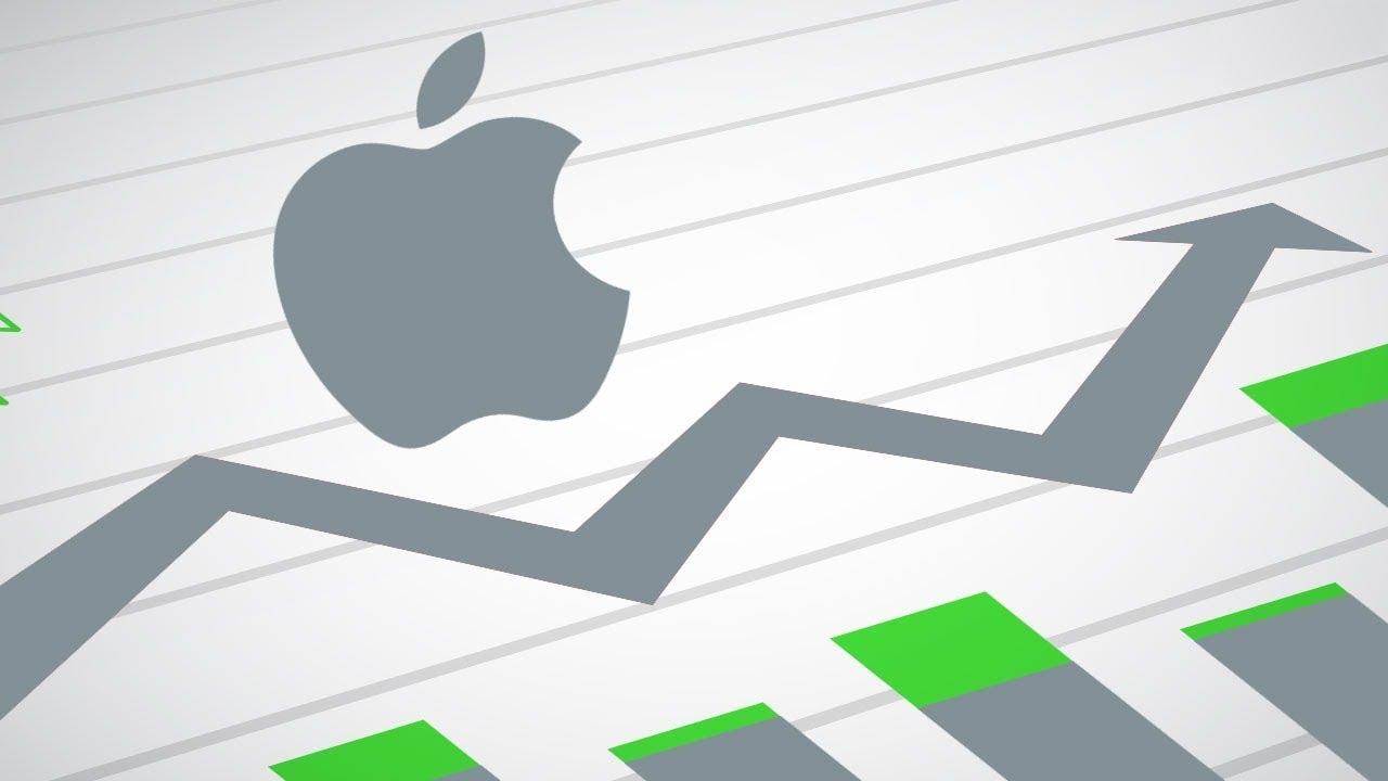 Cổ phiếu Apple tăng